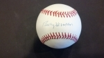 Billy Herman Autographed Baseball - PSA/DNA (Cubs)