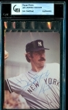 Jim Catfish Hunter Signed Photo (New York Yankees)