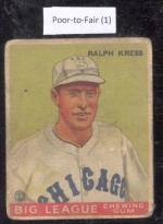 ralph kress (Chicago White Sox)