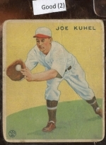 joe kuhel (Washington Senators)