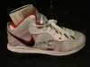 Lebron James-Autographed Shoe Size 8-UDA (Miami Heat)