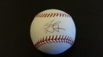 Autographed Baseball James Loney - HOF Sports (Los Angeles Dodgers)