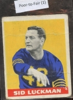 Sid  Luckman YB (Chicago Bears)