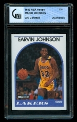 "Earvin""Magic"" Johnson Autographed Card (Los Angeles Lakers)"
