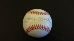 Autographed Baseball Mickey Mantle UDA (New York Yankees)