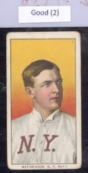 Christy Mathewson-Sweet CAP-PORT (New York National)