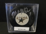 Mike Modano Autographed Puck (Dallas Star)