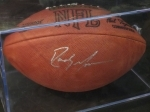 Randy Moss-Autographed Football-Steiner (New England Patriots)