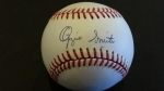 Autographed Baseball Ozzie Smith - GAI (St Louis Cardinals)