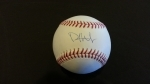 Autographed Baseball Philip Hughes (Steiner) (New York Yankees)