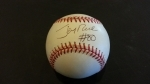 Autographed Baseball Jerry Rice GAI (San Francisco 49's)
