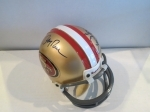 Steve Young/Jerry Rice Autographed Mini Helmet  (San Francisco 49ers)