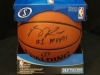 Derrick Rose-Autographed Basketball-PSA (Chicago Bulls)