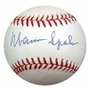 Autographed Baseball Warren Spahn PSA/DNA (Milwaukee Braves)