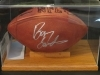 Barry Sanders-Autographed Football-Mounted Memories (Detroit Lions)