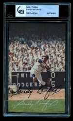 Sandy Koufax Signed Photo (Los Angeles Dodgers)