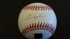 Herb Score Autographed Baseball (Cleveland Indians)