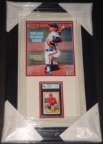 Tom Seaver Autographed Card with SI Cover-GAI (New York Mets)