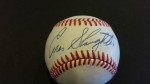Autographed Baseball Enos Slaughter PSA/DNA (St. Louis Cardinals)