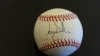 Larry Walker Autographed Baseball - GAI (Colorado Rockies)