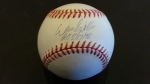 David Wells Autographed Baseball (New  York Yankees)