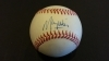 Maury Wills Autographed Baseball (Dodgers)