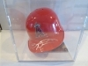 Brandon Wood Autographed Mini Helmet (California Angels)
