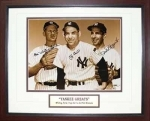 Whitey Ford / Yogi Berra / Phil Rizzuto (Yankees)