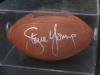 Steve Young-Autographed Football-PSA (San Francisco 49ers)