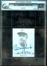 Bill Mazeroski Autogrpahed Photo (Pittsburgh Pirates)
