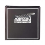Baseball Album Black
