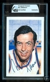 Bill Bradley Autographed Postcard (New York Knicks)
