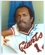 Vida Blue Autographed 8x10 (San Francisco Giants)