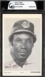 Bobby Bonds Autographed Post Card (Cleveland Indians)