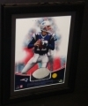 Tom Brady Framed Jersey Piece (New England Patriots)