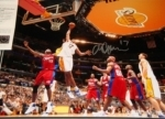 Andrew Bynum-Autographed 16x20-UDA (Los Angeles Lakers)