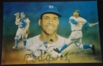 Roy Campanella 16x20 Autographed Pelusso (Brooklyn Dodgers)