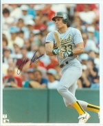 Jose Canseco Autographed 8x10 (Oakland Athletics)