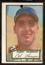 Bobby Thomson RC (New York Giants)