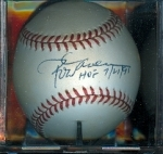 Autographed Baseball Rod Carew HOF (California Angels)