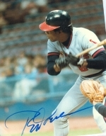 Rod Carew Autographed 8 x 10  (California Angels)
