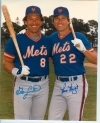 Gary Carter / Ray Knight Autographed 8x10 (New York Mets)