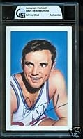 Dave DeBusschere Autographed Postcard (New York Knicks)