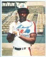 Andre Dawson Autographed 8x10 (Montreal Expos)