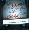 Steve Garvey / Ron Cey / Davey Lopes / Bill Russell Naxcom COA (Los Angeles Dodgers)