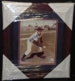 Bob Feller Framed Autographed 8x10 Photo-GAI (Cleveland Indians)