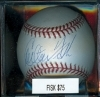 Autographed Baseball Carlton Fisk (Boston Red Sox)