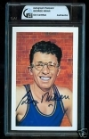 George Mikan Autographed Postcard (Los Angeles Lakers)
