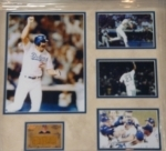 Kirk Gibson-Autographed Card in Frame kiosk(Los Angeles Dodgers)