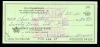 Billy Herman Signed Check (Brooklyn Dodgers)